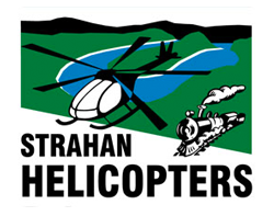 Strahan Helicopters Logo